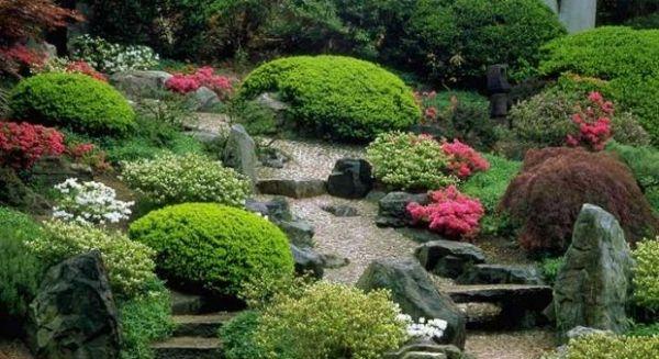 16 schritte für japanischen garten gestalten pflanzenarten ...