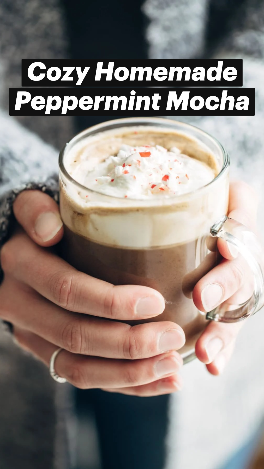 Cozy Homemade Peppermint Mocha
