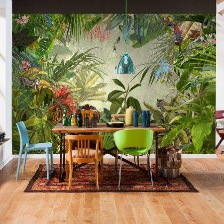 Komar   Fotobehang Vlies   Jungle Dieren   368x248cm