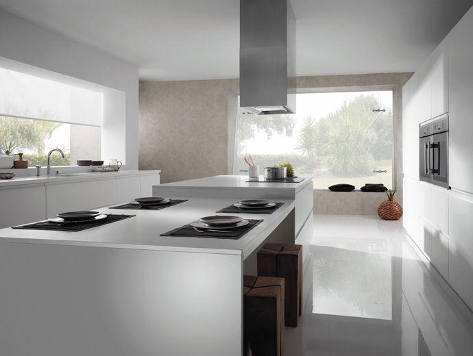 Cocina Isla Mesa Space Decor Home Decor Kitchen