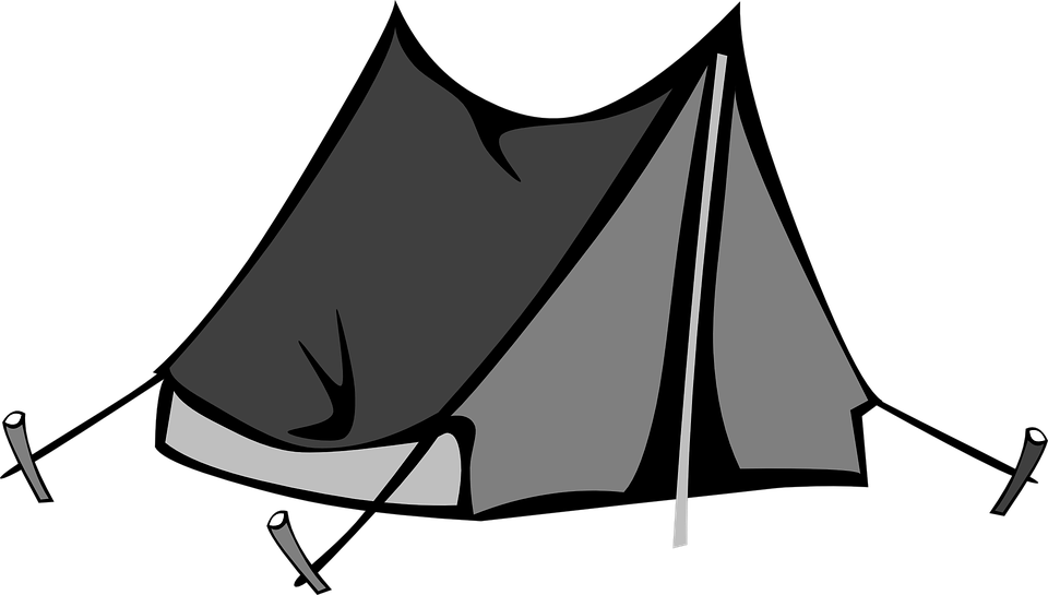 Black Tent Png Image Tent Canvas Tent Camping Outdoor Shelters