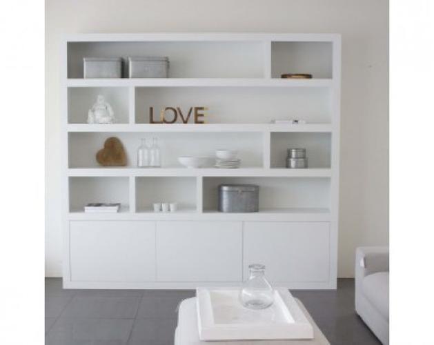 Witte Kast Woonkamer : Vakkenkast woonkamer isabel house living room en room