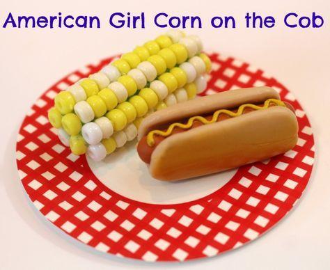 American Girl Corn on the Cob