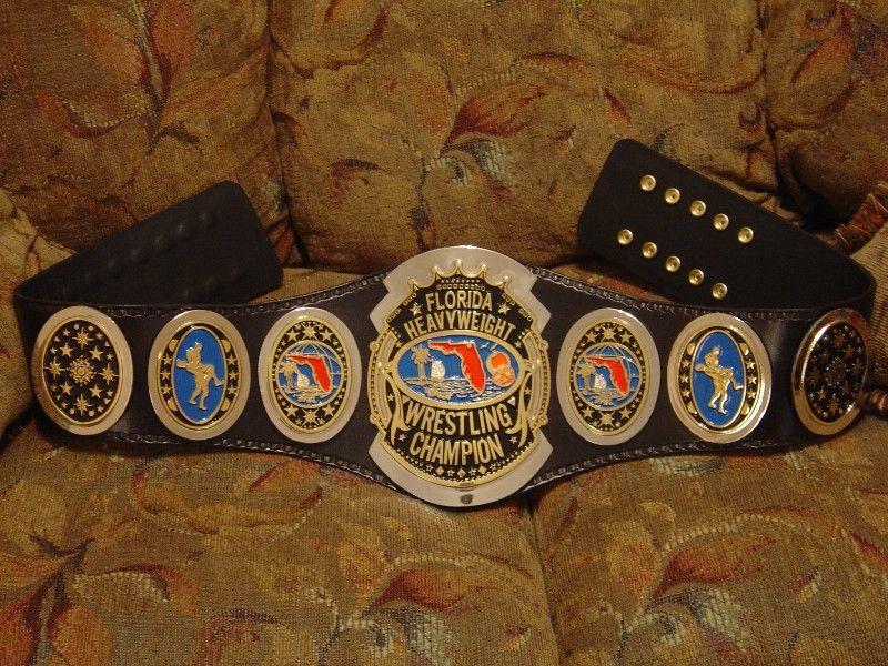 Florida Heavyweight Wrestling Championship Belt