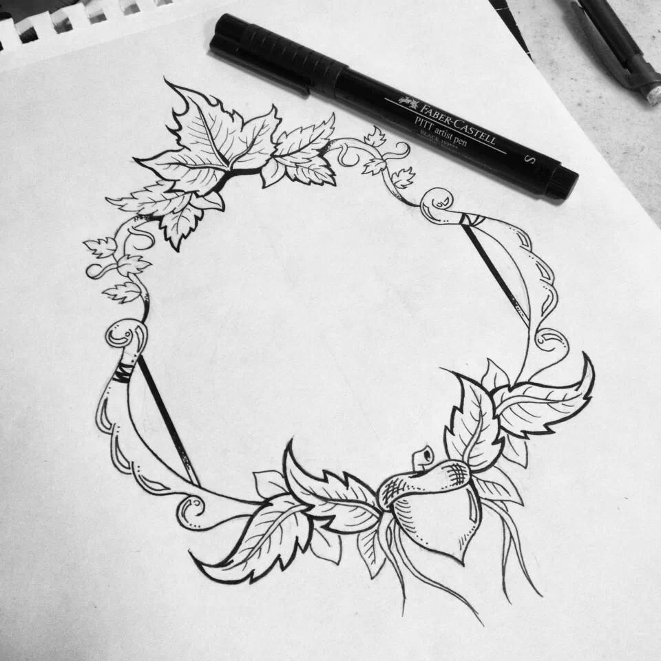 Beautiful frame that my best ftiend drew! Cant wait to see what she ...