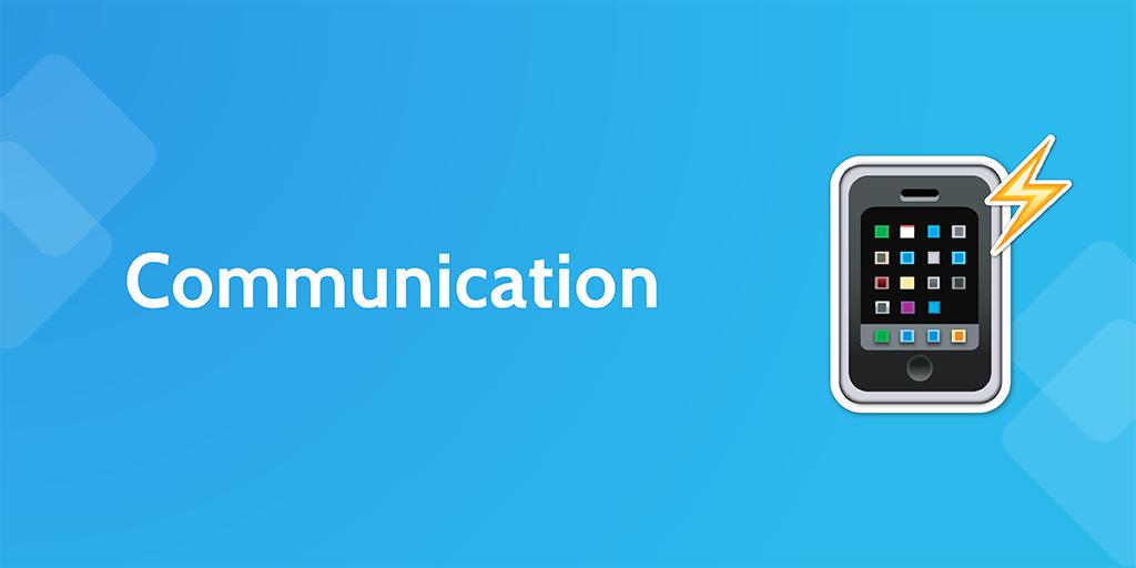 business process automation - communication