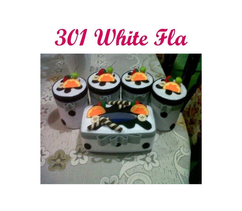 Souvenir Pernikahan Murah Jakarta Toko 1 Set Toples Snack Unik Kain