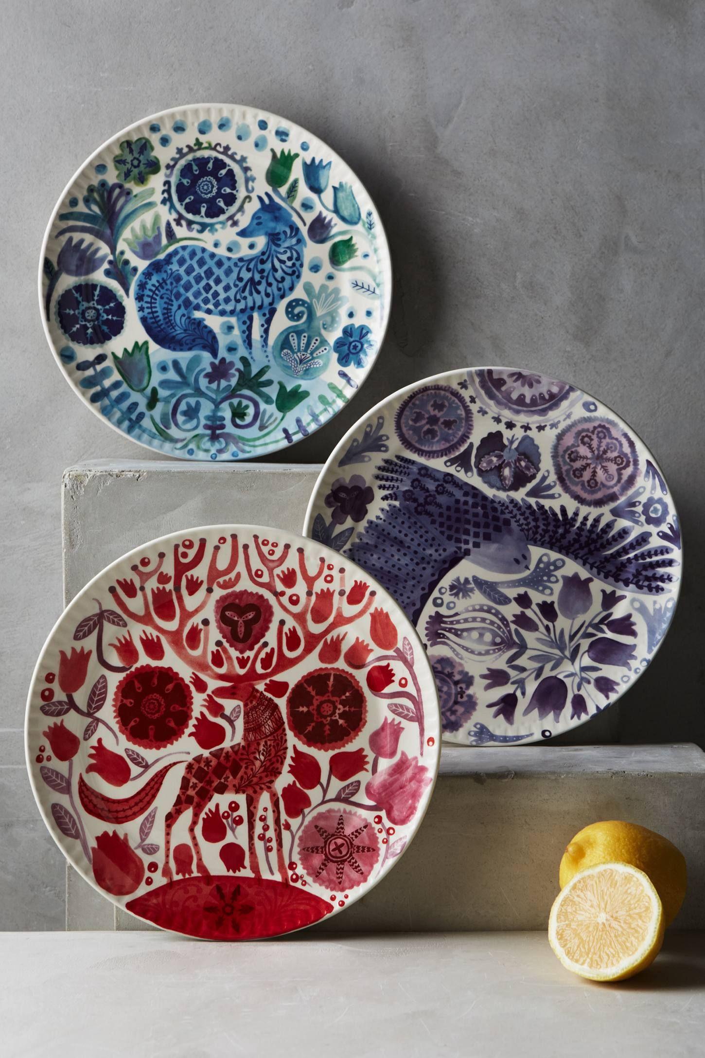Nordic Sunrise Dessert Plate - anthropologie.com | Plate Me Up ...