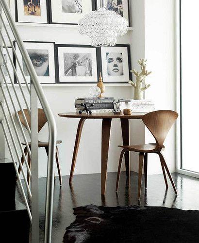 Giogali chandelier_Cherner chair