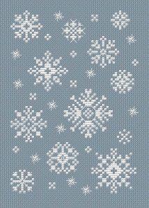 Swirly Snow Free Chart