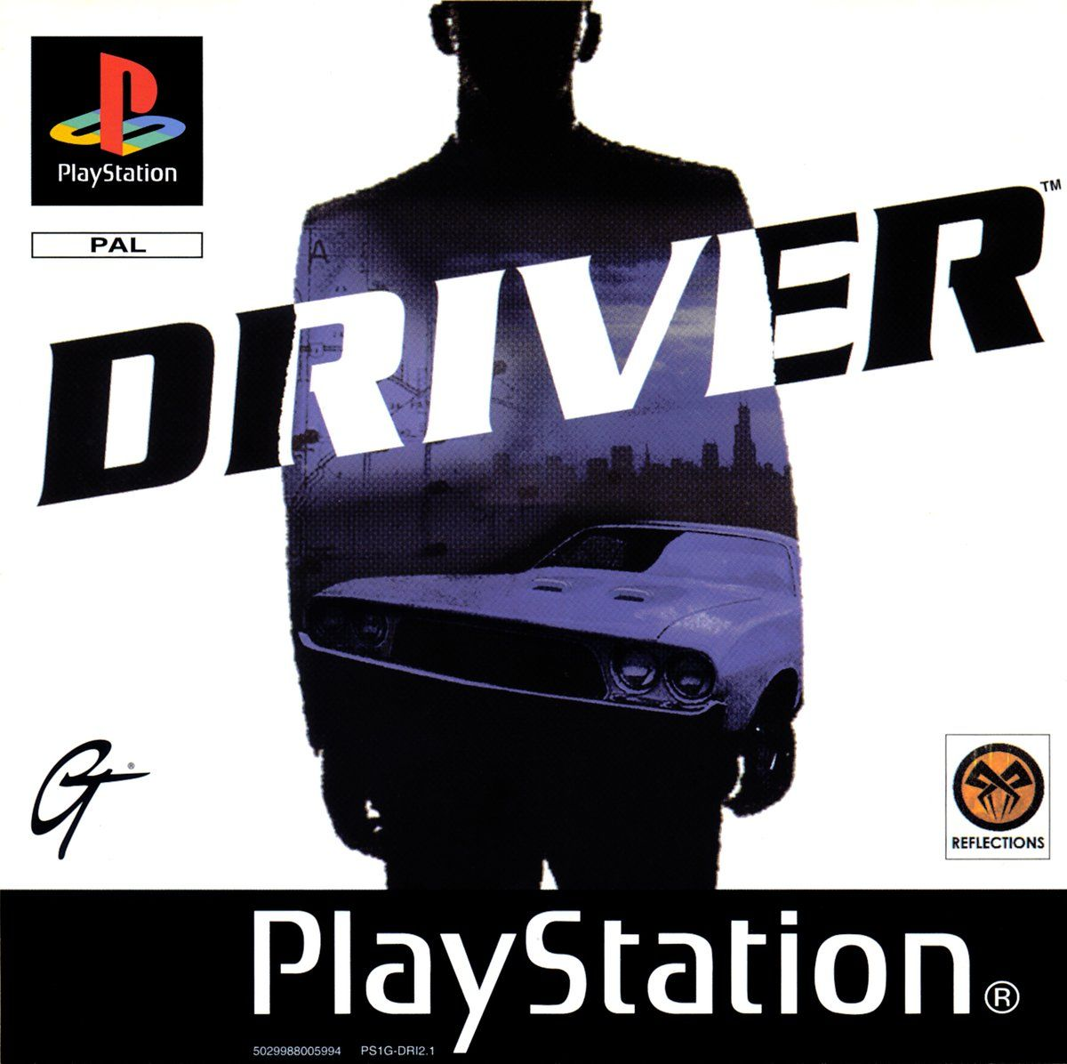 Cool Box Art On Driver Video Game Playstation Classic Video Games