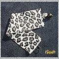 Manchette leopard