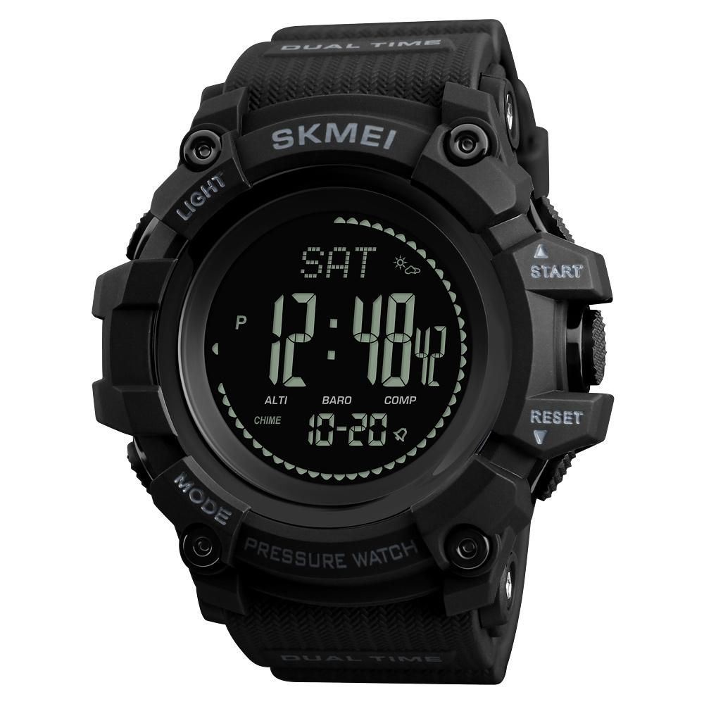 SKMEI Brand Mens Sports Watches Hours Pedometer Calories Digital Watch Altimeter Barometer Compass Thermometer Weather Men Watch #sportswatches SKMEI Brand Mens Sports Watches Hours Pedometer Calories Digital Watch Altimeter Barometer Compass Thermometer Weather Men Watch #sportswatches