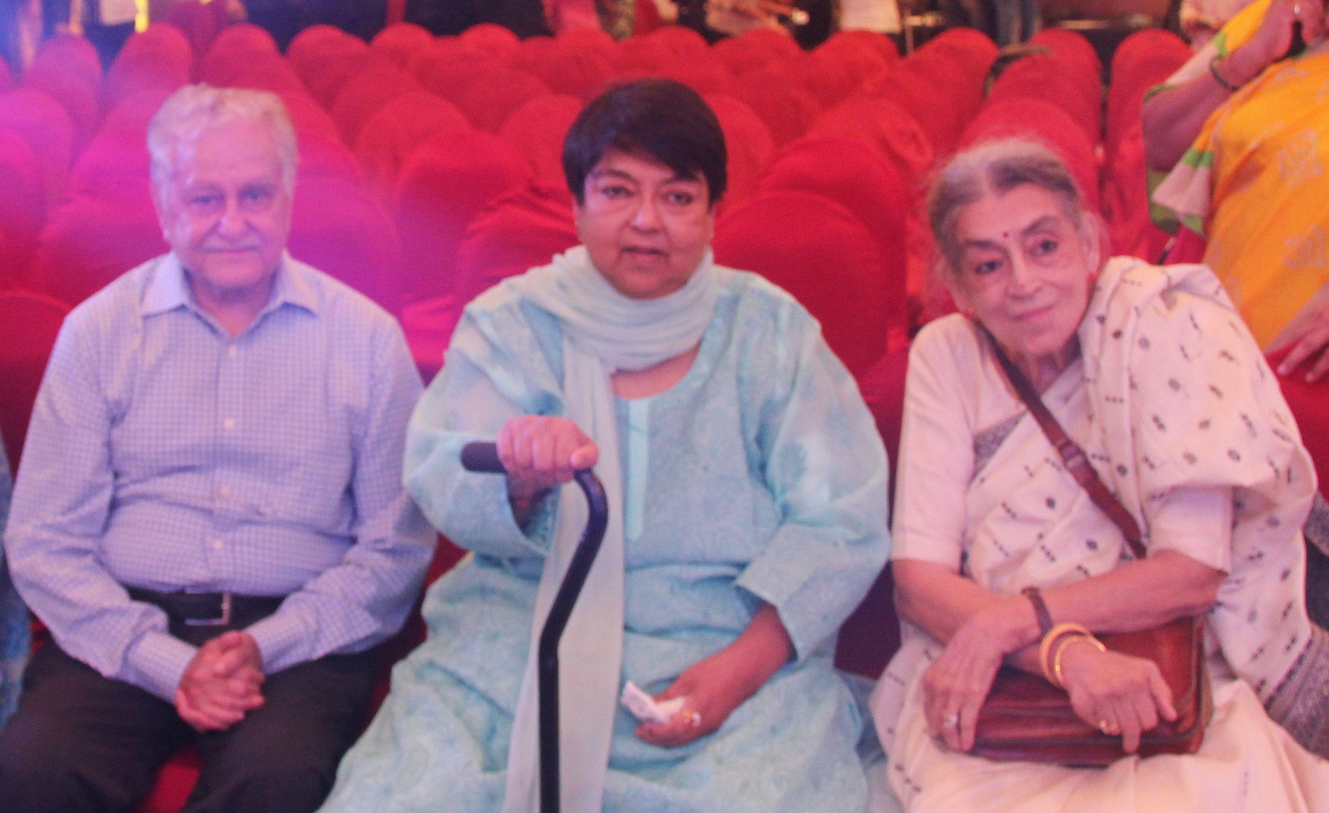 Hari ji, Kalpana Lajmi and Lalita Lajmi at the release of