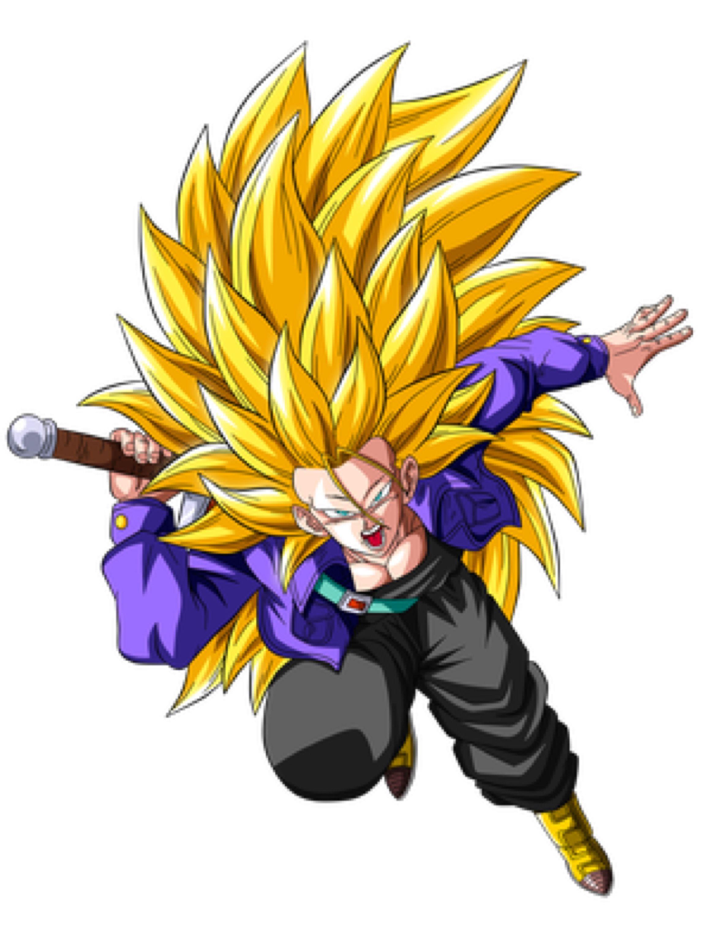 Trunks Super Saiyan 3 by OriginalSuperSaiyan on ...