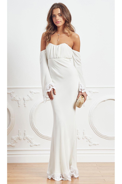 1d96ab0ebd Stone Cold Fox off shoulder dress    Bohemian and beach bride inspiration