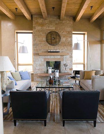 A Santa Fe Home with a Modern Twist | Santa fe home ...