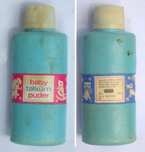 Baby talkum puder (70's)