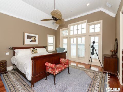 Master Suite with Waterviews 530 Adams Street, Centerport, NY Peggy Moriarty, Daniel Gale Sothebys International Realty, 516-769-2843