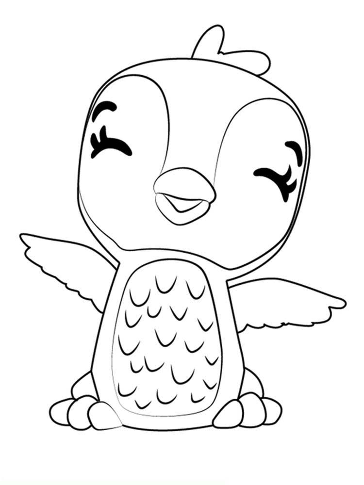 Hatchimals Coloring Page Printable In 2020 Cartoon Coloring