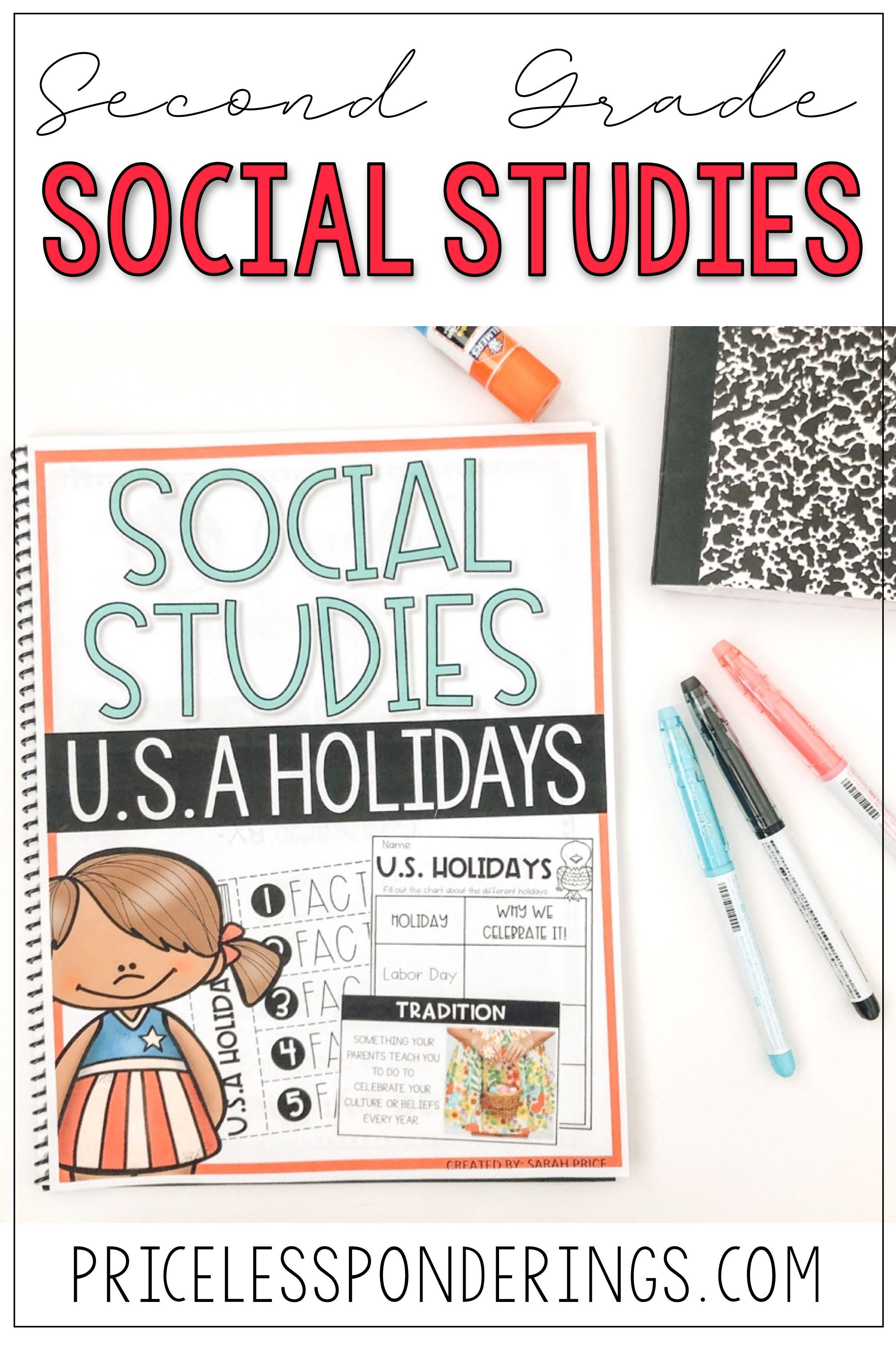 U S A Holidays Customs And Celebrations Worksheets And