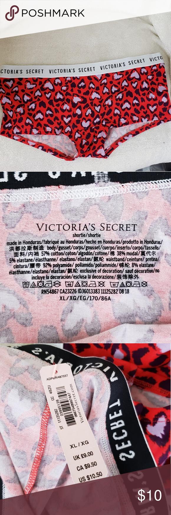 Victoria's Secret Shortie Panties