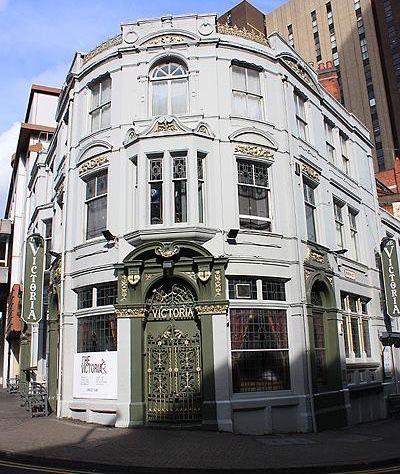 The Victoria Pub 48 John Bright Street Birmingham U K One Of