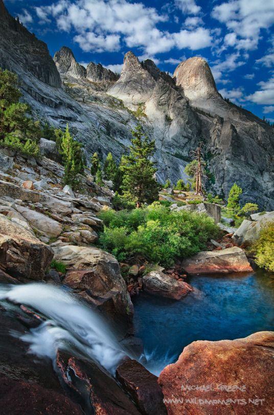 Belle Nature Parc National De Sequoia Paysage Montagne Paysage