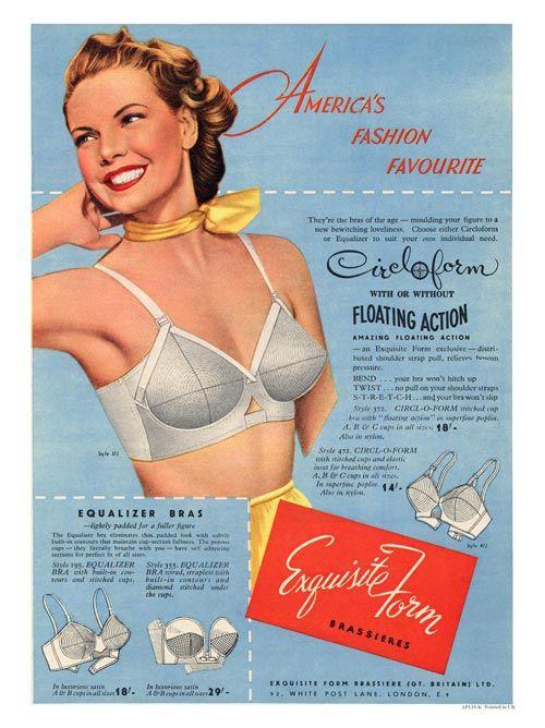 71f88c2a82dfa Exquisite form show us how it s done! www.brayola.com Vintage Lingerie