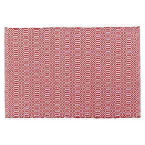 bazaar kitchen mat - red : target | kitchen mats floor