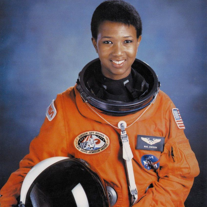 Happy birthday to Dr. Mae Jemison, the first African ...