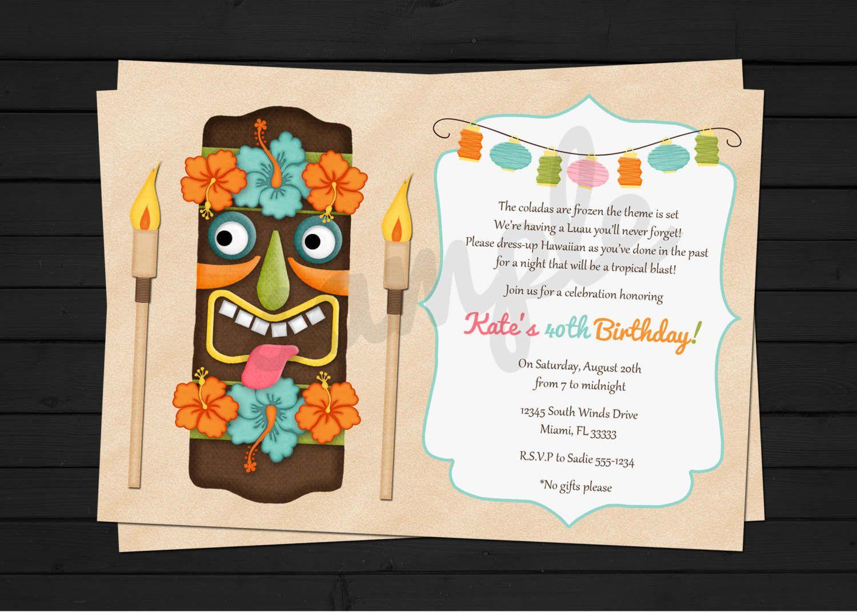 Free printable luau invitations free free birthday invitations templates to print filmwisefo