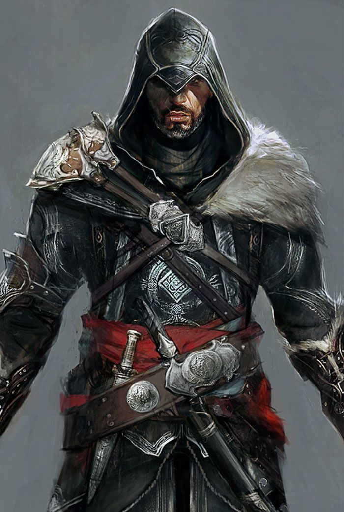 Ezio Concept Characters Art Assassin S Creed Revelations S