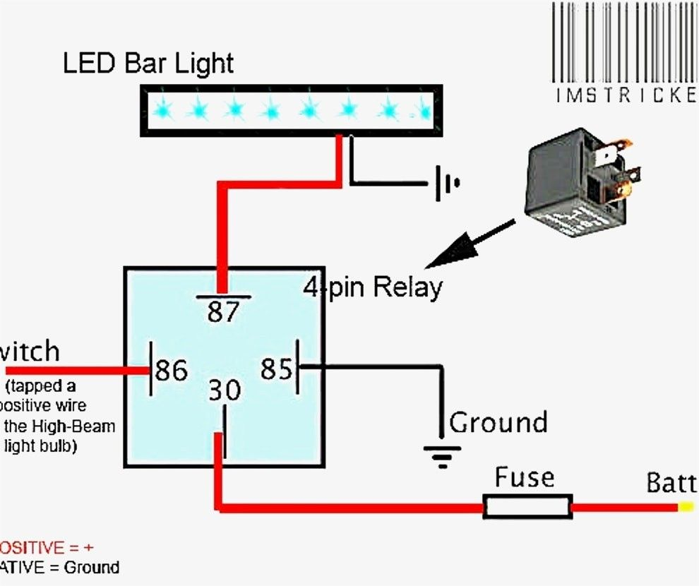Wiring Diagram Simple Led Light Bars Bar Lighting Automotive