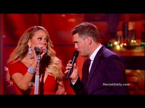 Mariah Carey All I Want For Christmas Is You Duet With Michael Buble Youtube Michael Buble Mariah Carey Christmas Music