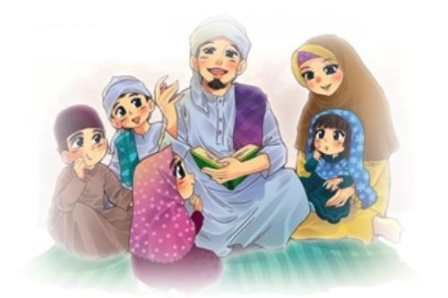 50 Tips Terbaik Membina Keluarga Bahagia Kartun, Gambar