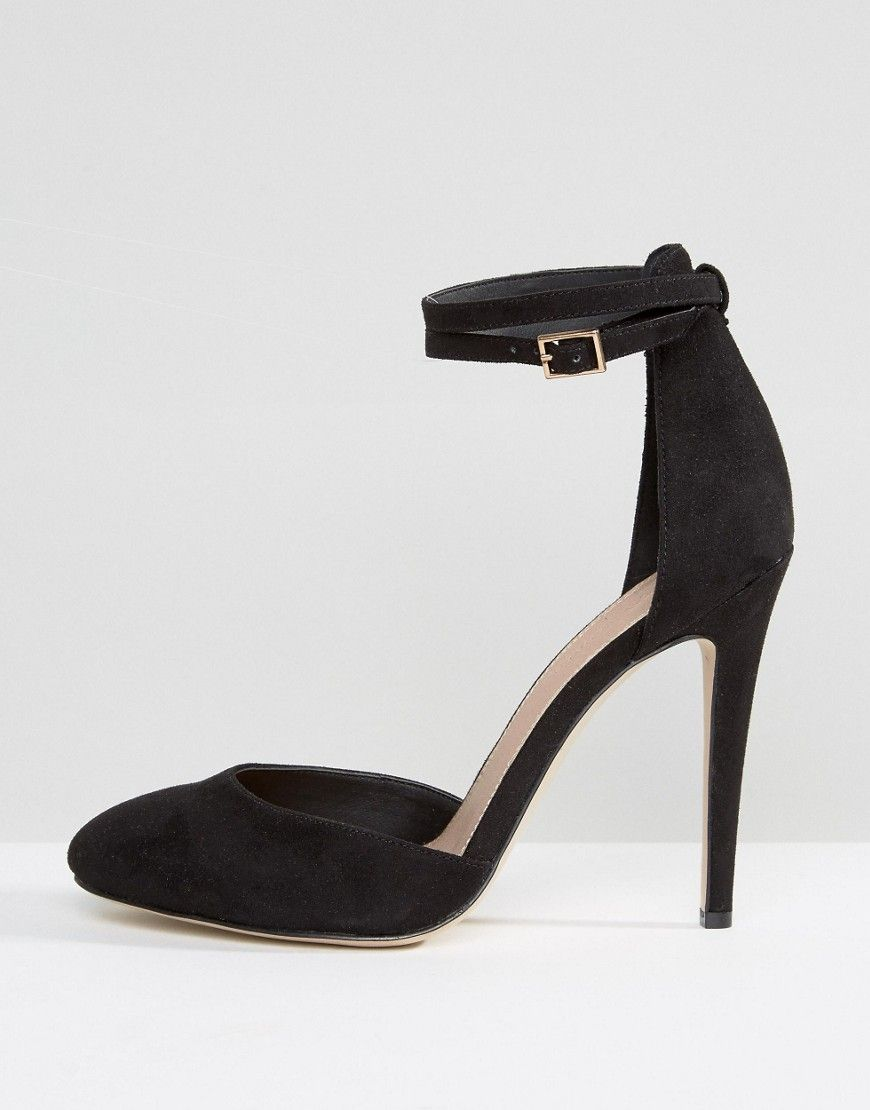 17a31d8385f ASOS PLAYDATE Wide Fit High Heels - Black | Cute Outfits | Latest ...