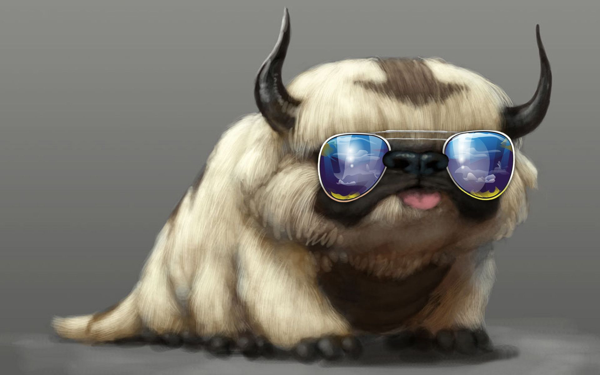 i searched google for 'cool animal backgrounds and this