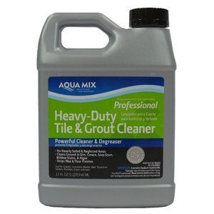 Aqua Mix Heavy Duty Tile and Grout Cleaner - Gallon by Aqua