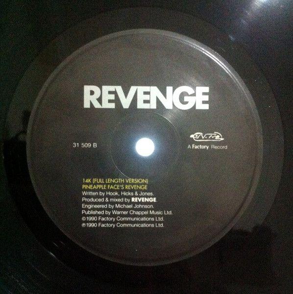 Revenge - Pineapple Face #maxisingle #12inch #vinilo #vinyl