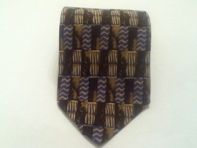 Excellent Nordstrom XMI 100 Silk Men's Grometric Print Neck Tie Free Shipping | eBay $4