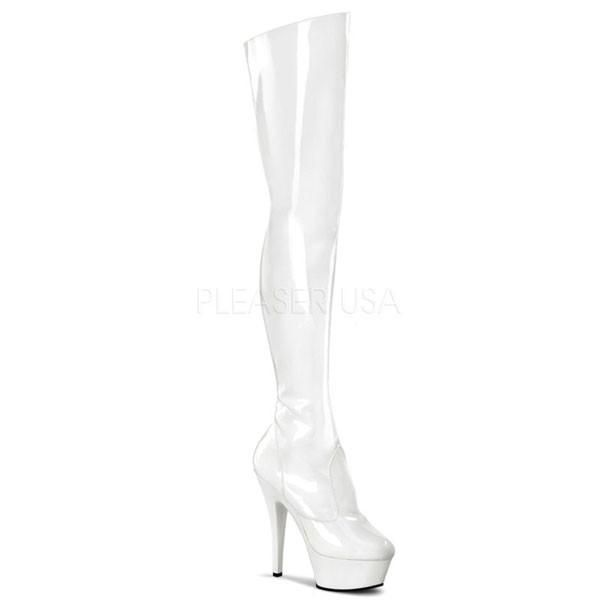 2765c5d1220f KISS-3010 Thigh High Platform Boots by Pleaser Shoes. FREE Shipping    Returns on