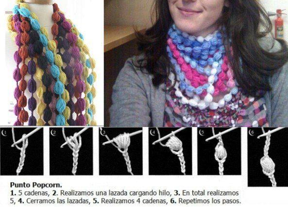 Bisuteria 260 piezas de crochet tutoriales e ideas - Patrones ...
