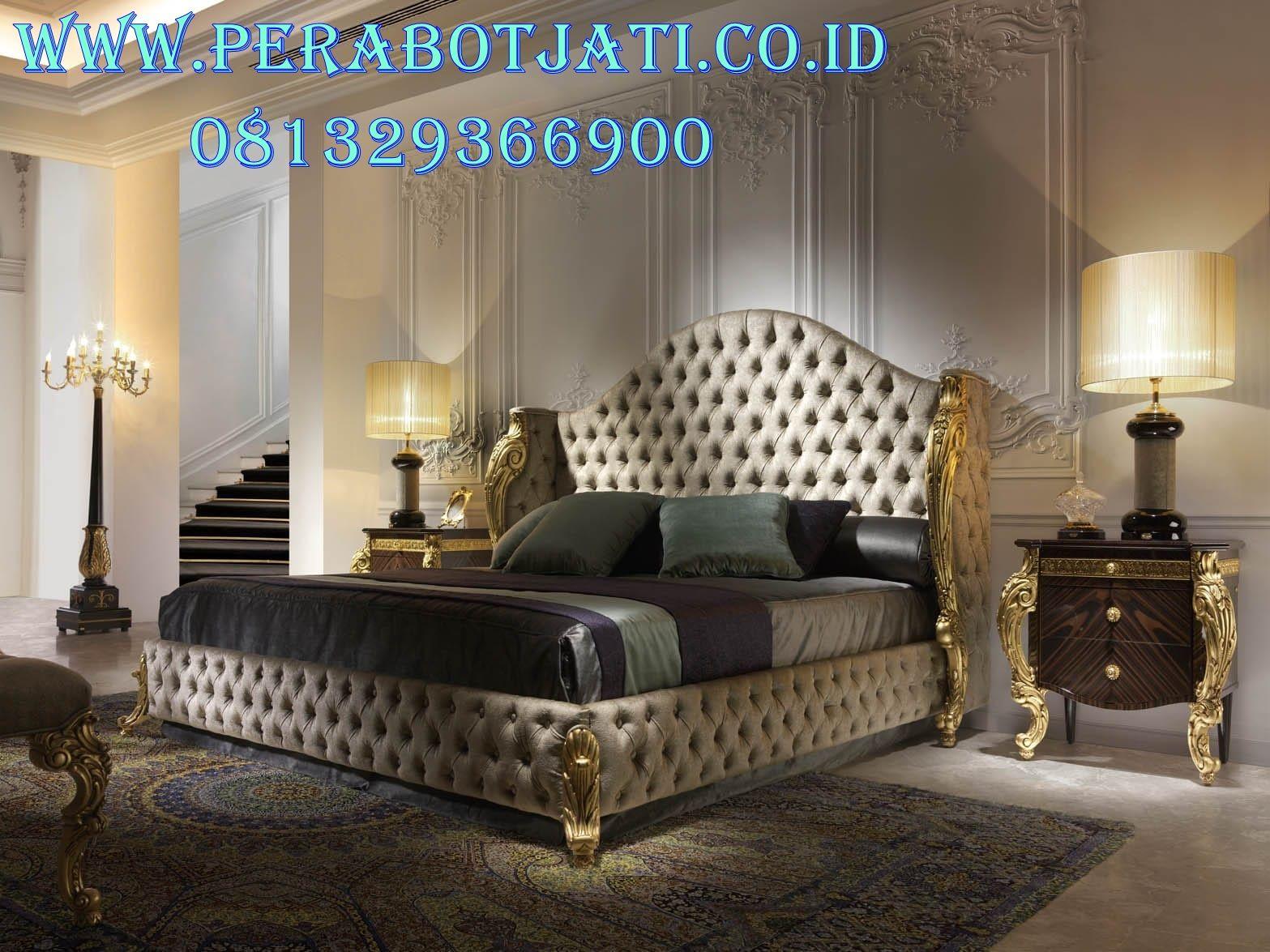 Desain Tempat Tidur Pengantin Untuk Kamar Klasik Romantis  Kamar