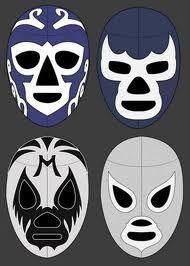 Mascaras Mascaras Mexican Wrestler Luchador Mask Mexican Culture