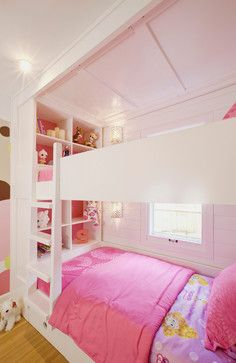 Kids Custom Bunk Room Transitional Kids Indianapolis Werk