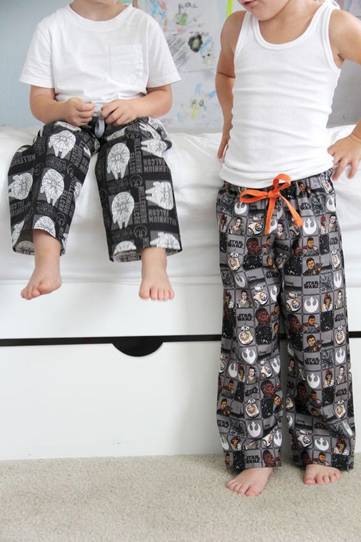 Pajamas Diy Boy Sewing Projects