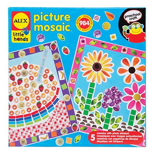 Alex Toys Little Hands Picture Mosaic Kit Only 4 33 Reg 12