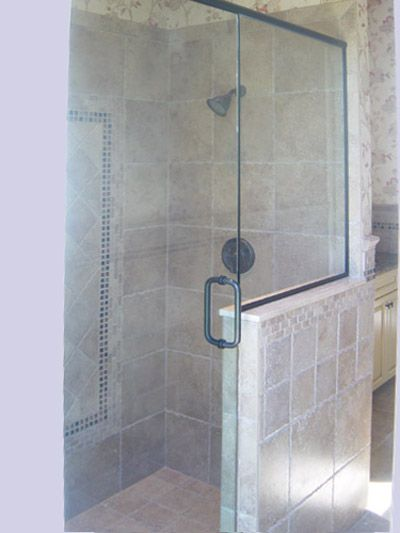 shower stall with knee wall | Design в 2019 г.