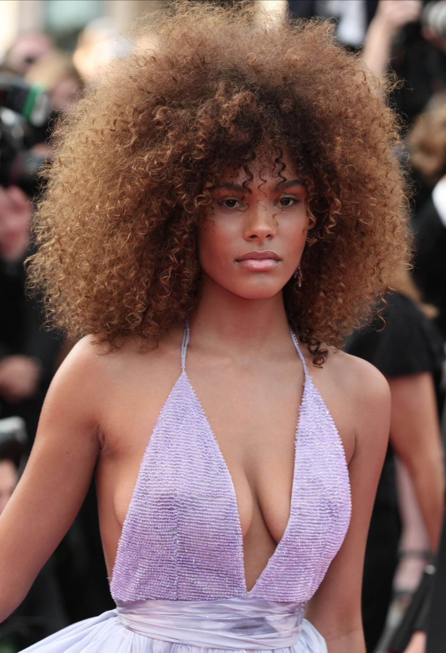 Tina Kunakey The Beguiled Premiere At 70th Cannes Film